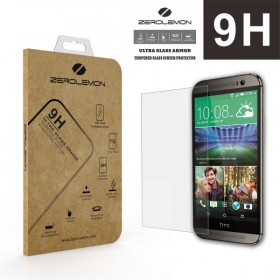 9H Premium Tempered Glass Screen Protector for HTC One M8