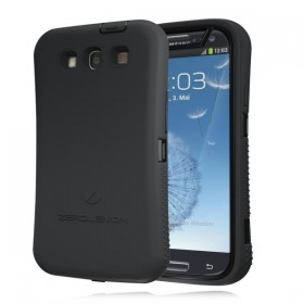 Samsung Galaxy S III ZeroShock Rugged Midnight Black -Viper Black Case