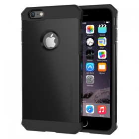 ZeroLemon iPhone 6 Plus Razor Armor Dual Layer Protective Case- Matte Black