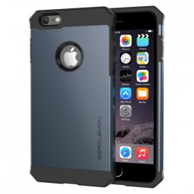ZeroLemon iPhone 6 Plus Razor Armor Dual Layer Protective Case- Navy Blue