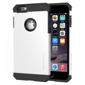 ZeroLemon iPhone 6 Plus Razor Armor Dual Layer Protective Case- Pearl White