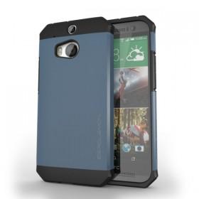 ZeroLemon HTC One Razor Armor navy blue