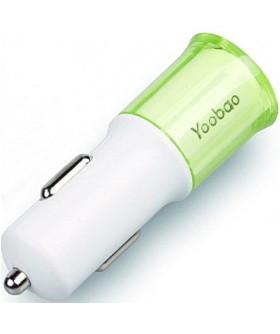 Зарядно за кола Yoobao,зелено