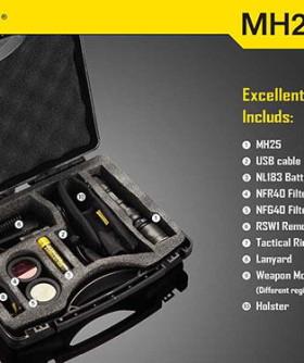 Ловен комплект Nitecore MH25 Hunting Kit